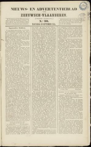 Ter Neuzensche Courant. Algemeen Nieuws- en Advertentieblad voor Zeeuwsch-Vlaanderen / Neuzensche Courant ... (idem) / (Algemeen) nieuws en advertentieblad voor Zeeuwsch-Vlaanderen 1855-09-19