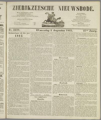 Zierikzeesche Nieuwsbode 1865-08-02