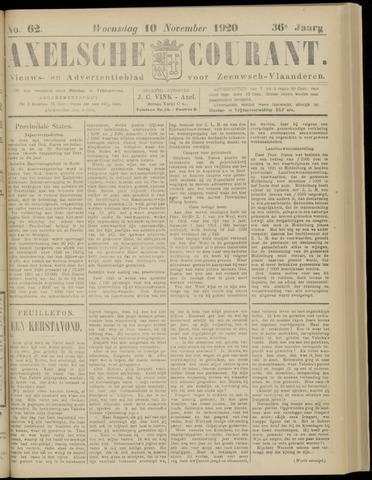 Axelsche Courant 1920-11-10
