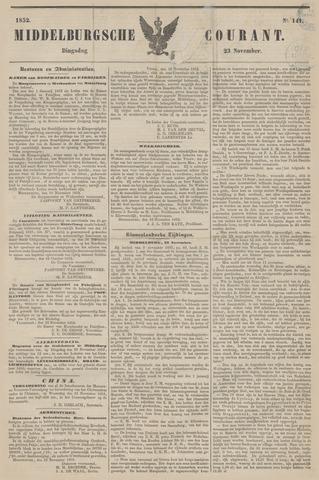 Middelburgsche Courant 1852-11-23