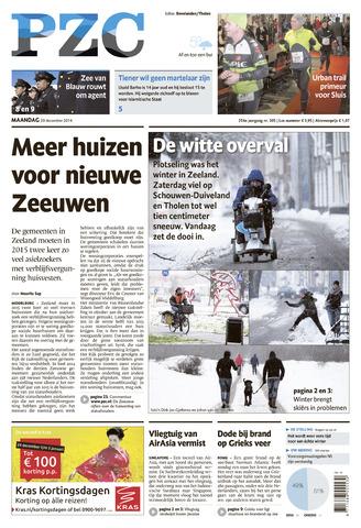 Provinciale Zeeuwse Courant 2014-12-29