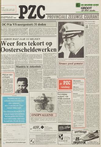 Provinciale Zeeuwse Courant 1985-09-07