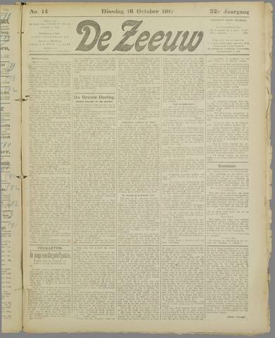 De Zeeuw. Christelijk-historisch nieuwsblad voor Zeeland 1917-10-16