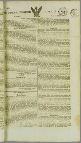 Middelburgsche Courant 1837-04-01