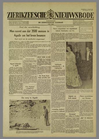 Zierikzeesche Nieuwsbode 1960-03-03