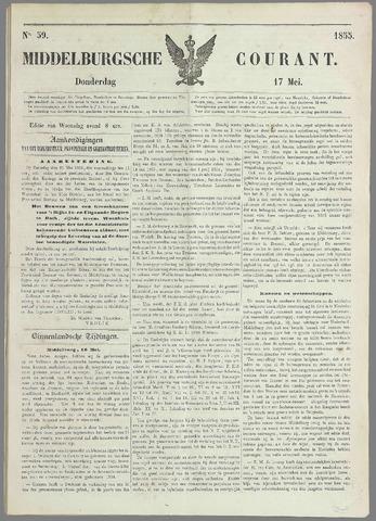 Middelburgsche Courant 1855-05-17
