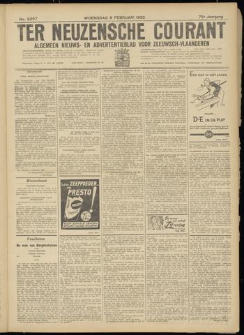 Ter Neuzensche Courant. Algemeen Nieuws- en Advertentieblad voor Zeeuwsch-Vlaanderen / Neuzensche Courant ... (idem) / (Algemeen) nieuws en advertentieblad voor Zeeuwsch-Vlaanderen 1935-02-06
