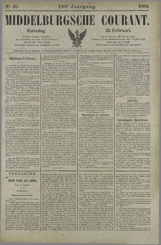 Middelburgsche Courant 1882-02-25