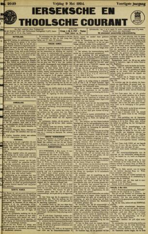 Ierseksche en Thoolsche Courant 1924-05-09
