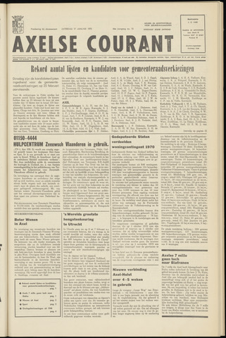 Axelsche Courant 1970-01-17