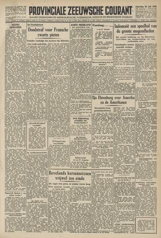 Provinciale Zeeuwse Courant 1946-07-20