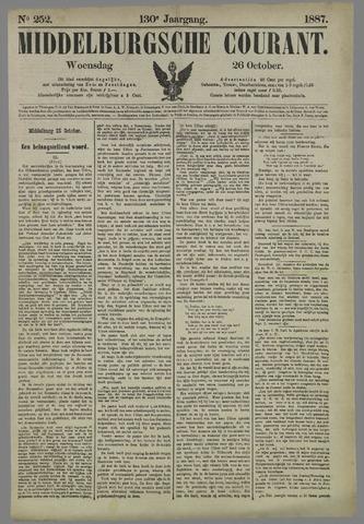 Middelburgsche Courant 1887-10-26