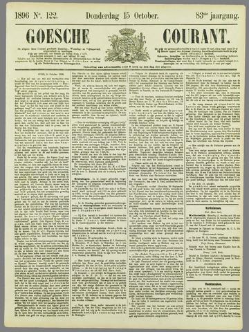 Goessche Courant 1896-10-15