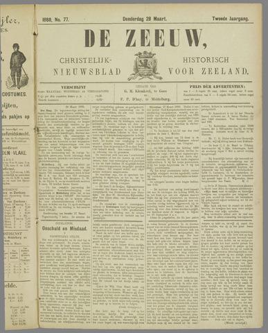 De Zeeuw. Christelijk-historisch nieuwsblad voor Zeeland 1888-03-28