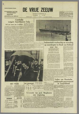 de Vrije Zeeuw 1963-11-21