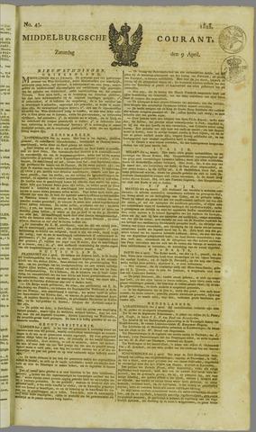 Middelburgsche Courant 1825-04-09