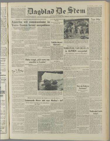 de Stem 1950-05-09