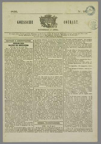 Goessche Courant 1850-04-18