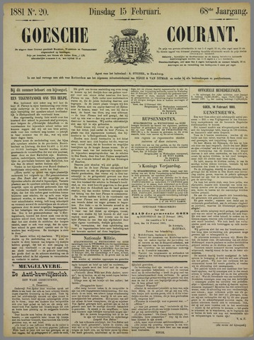 Goessche Courant 1881-02-15