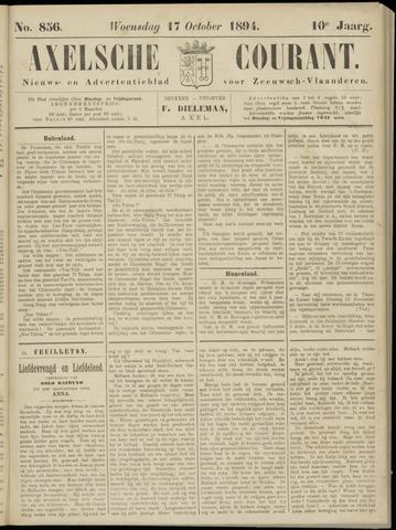 Axelsche Courant 1894-10-17