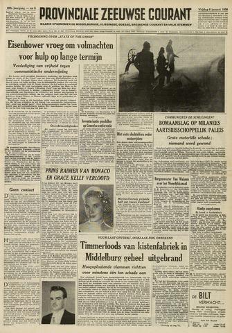 Provinciale Zeeuwse Courant 1956-01-06