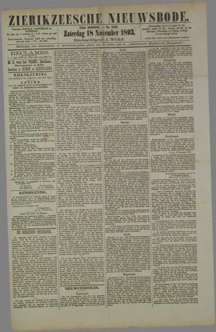 Zierikzeesche Nieuwsbode 1893-11-18