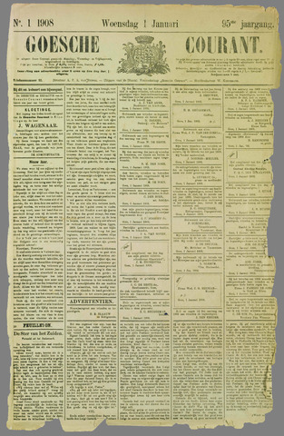 Goessche Courant 1908