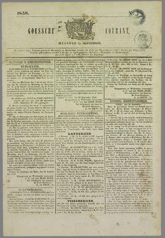 Goessche Courant 1850-09-30