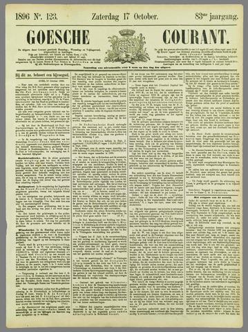 Goessche Courant 1896-10-17