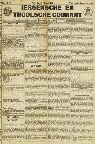 Ierseksche en Thoolsche Courant 1918-03-09