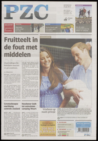 Provinciale Zeeuwse Courant 2013-07-24