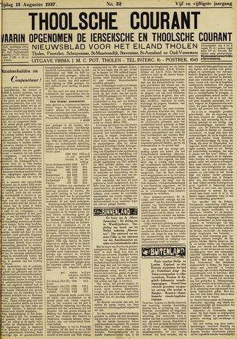Ierseksche en Thoolsche Courant 1937-08-13