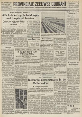 Provinciale Zeeuwse Courant 1951-10-12
