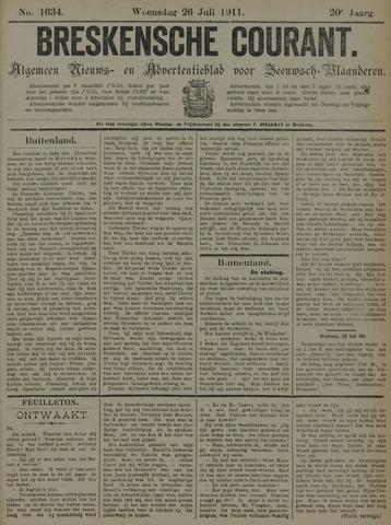 Breskensche Courant 1911-07-26