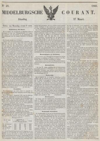 Middelburgsche Courant 1866-03-27