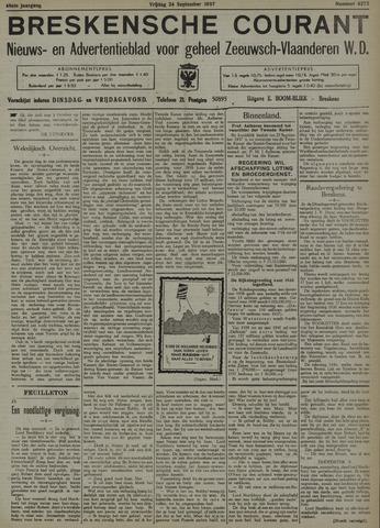 Breskensche Courant 1937-09-24