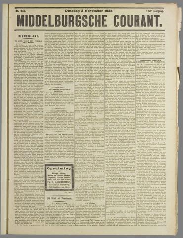 Middelburgsche Courant 1925-11-03
