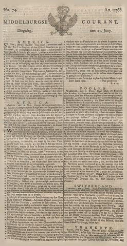 Middelburgsche Courant 1768-06-21