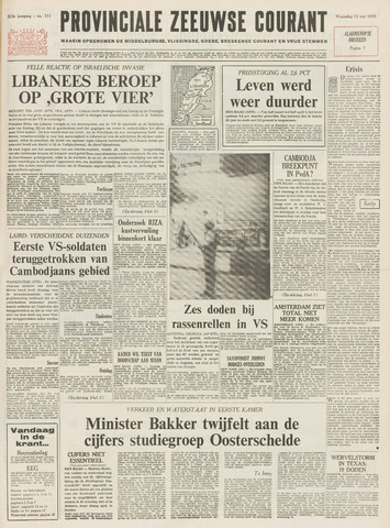 Provinciale Zeeuwse Courant 1970-05-13
