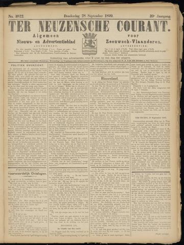 Ter Neuzensche Courant. Algemeen Nieuws- en Advertentieblad voor Zeeuwsch-Vlaanderen / Neuzensche Courant ... (idem) / (Algemeen) nieuws en advertentieblad voor Zeeuwsch-Vlaanderen 1899-09-28