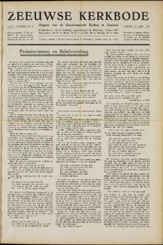 Zeeuwsche kerkbode, weekblad gewijd aan de belangen der gereformeerde kerken/ Zeeuwsch kerkblad 1950-08-11
