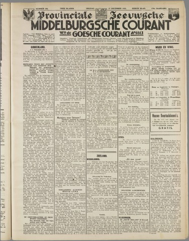 Middelburgsche Courant 1935-12-27