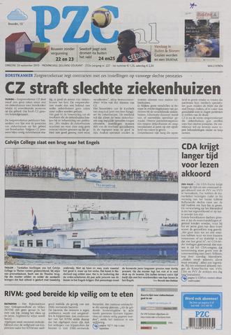 Provinciale Zeeuwse Courant 2010-09-28