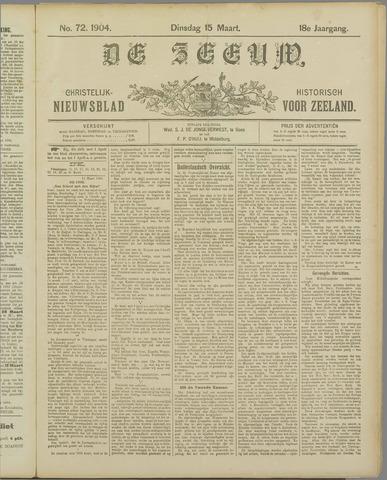 De Zeeuw. Christelijk-historisch nieuwsblad voor Zeeland 1904-03-15