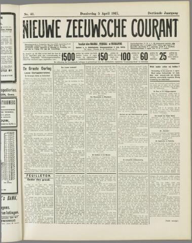 Nieuwe Zeeuwsche Courant 1917-04-05