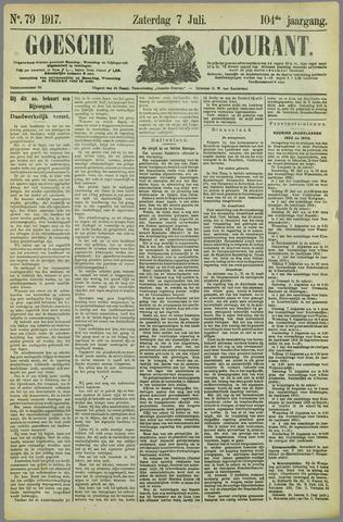Goessche Courant 1917-07-07