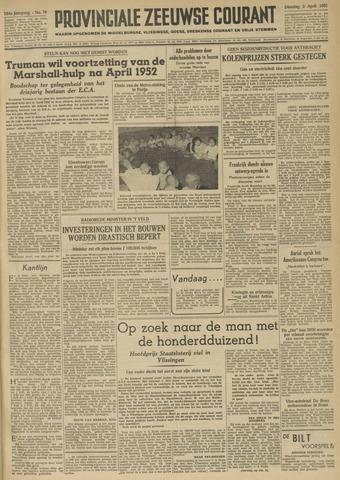 Provinciale Zeeuwse Courant 1951-04-03