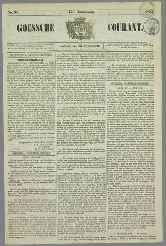Goessche Courant 1855-11-15