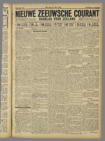 Nieuwe Zeeuwsche Courant 1922-05-22