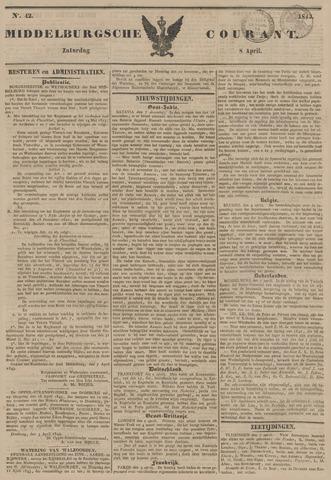 Middelburgsche Courant 1843-04-08